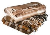 Woolen plaid — Stock Photo