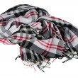 Checkered scarf - Stock Photo