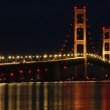 Mackinac Bridge at Night — Stock Photo #11632062