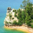 Miners Castle at Pictured Rocks — Stock Photo