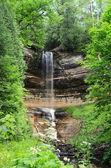 Munising Falls at Pictured Rocks National Lakeshore — Stock Photo