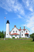 Point Iroquois Lighthouse — Stock Photo
