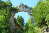 Arch Rock on Mackinac Island — Stock Photo