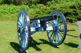 Cannon at Fort Mackinac Michigan — Stock Photo
