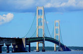 Mackinac Bridge — Stock Photo