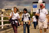 Heart of London Bridges Walk — Stock fotografie