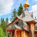 Wooden orthodox church — Stock Photo #11151471