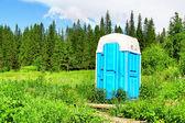 Compostering toilet — Stockfoto