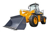 Front-end loader — Stock Photo