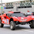 Rally Silkway 2012 - Stock Photo