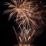 Fireworks show — Stock Photo
