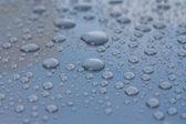 Beautiful water drops — Stock Photo