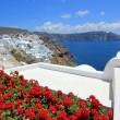 Caldera, Oia, Santorini, Greece — Stock Photo