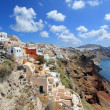Caldera, Oia, Santorini, Greece — Stock Photo