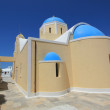 Greek church, Oia, Santorini, Greece — Stock Photo