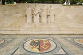 Reformation wall in Bastions park, Geneva, Switzerland — Stock Photo