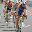 International Triathlon 2012, Geneva, Switzerland — Stock Photo