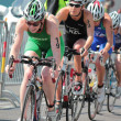 International Triathlon 2012, Geneva, Switzerland - Stock Photo