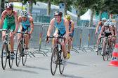 международный триатлон 2012, женева, швейцария — Стоковое фото