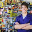 Portrait of owner of home improvement stores — Stock Photo #10956427