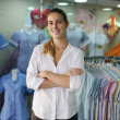 Stock Photo: Portait of retail store owner