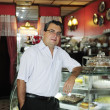 Stock Photo: Small business: owner of cafe