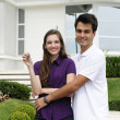 Couple buying a new house — Stock Photo #11218174