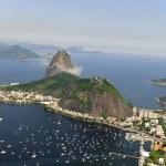 Sugarloaf Mountain in Rio de Janeiro — Stock Photo #11218923