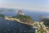 Sugarloaf Mountain in Rio de Janeiro — Stock Photo