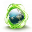 Recycling world — Stockfoto