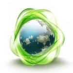 Recycling world — Stock Photo