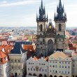 Stock Photo: Prague, capital of Czech Republic