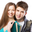Young Young beautiful couple — Stock Photo