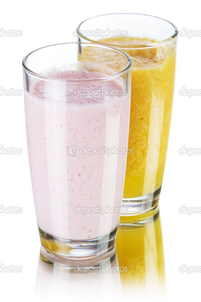 Smoothie drinks studio photo  Stock Photo #11276825