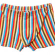 Colorful men's boxers — Stock Photo