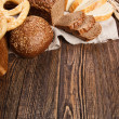 Bread assortment — Stock Photo