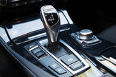 New modern car interior — Stock Photo