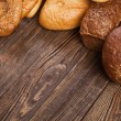 Stock Photo: Bread assortment