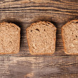 Slices of bread — Stock Photo