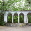 Old arc in green foliage — Stockfoto