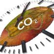 biossido di carbonio — Foto Stock