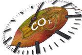 Carbon dioxide — Stock Photo