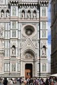 View of the Duomo and the city — Stock Photo