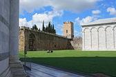 Pisa, Campo dei miracoli — Fotografia Stock