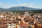 Florencja i santa croce — Zdjęcie stockowe