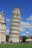 Pisa, Piazza dei miracoli — Stock Photo
