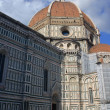 Duomo and the city of Florence - Stock fotografie