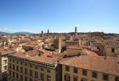 Florence and Palazzo Vecchio — Stock Photo