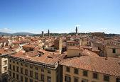 Florencia y el palazzo vecchio — Foto de Stock