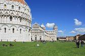 Pisa, piazza dei miracoli — Stockfoto